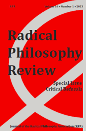 CRITICAL REFUSALS RPR 16.2 2013